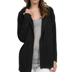 Joie Soft Kassi Hooded Cardigan Sweater Open Front